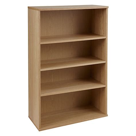 buy lewis abacus 3 shelf bookcase fsc certified