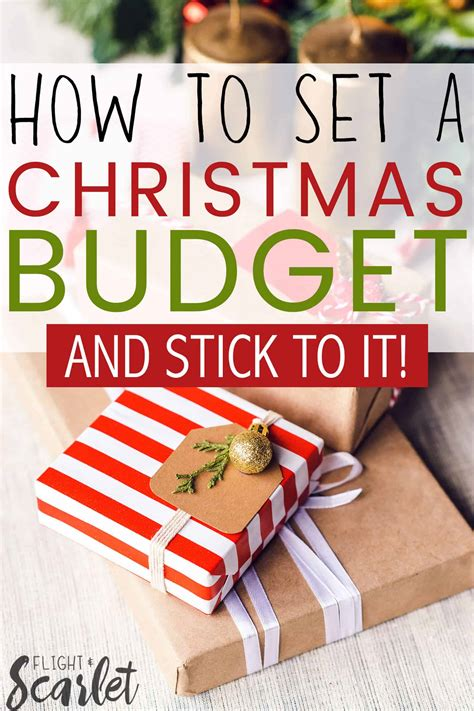 how to set a christmas budget and stick to it flight