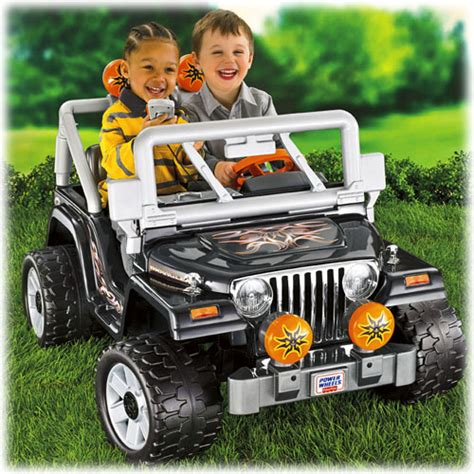 Power Wheels Tough Talking Jeep Wrangler Www Fisher Price