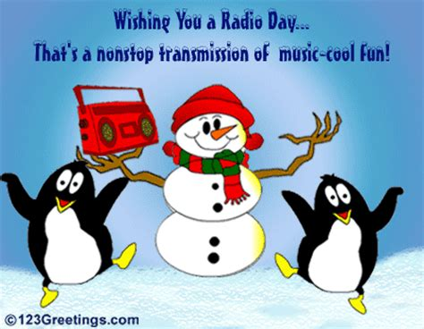 happy radio day  national radio day ecards greeting cards