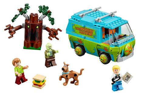 Lego Scooby Doo The Mystery Machine 75903 zoinks lego officially announces scooby doo theme