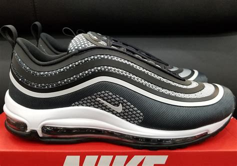 Original Bnib Nike Air Max 97 Ultra 17 Metallic Silver nike air max 97 ultra 17 black white 918356 001 sneakernews