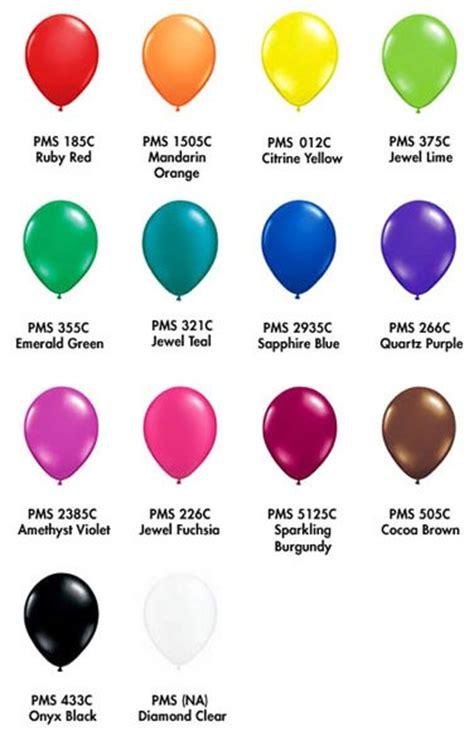 tone on tone color pms balloon colour tones the costume party shop