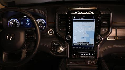 2019 Dodge Touch Screen by Navigating The 2019 Ram 1500 Uconnect 12 Inch Touchscreen