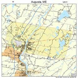 augusta maine map 2302100