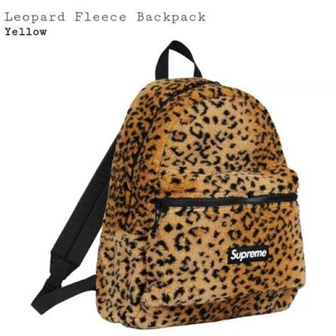 Leopard Print Backpack supreme bags leopard print backpack poshmark