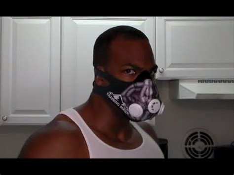 Trening Joger 2 elevation 2 0 mask w bane sleeve review