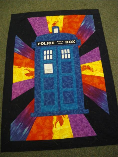 Dr Who Quilt Fabric by 13 Best Images About Tardis Quilt On Feathers