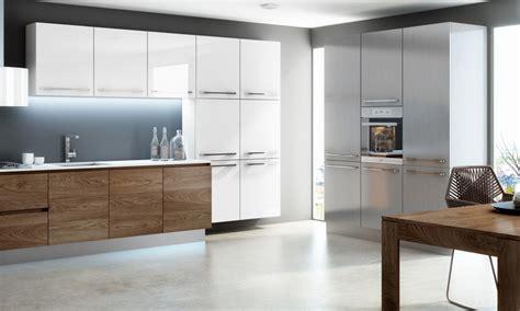 acabados de cocinas una cocina y tres acabados madera blanco e inox blog