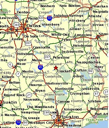 grapeland texas map map of east texas and surrounding states texas and its surrounding states map of texas