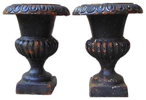 Cast Planters And Urns by Medici Cast Iron Urns Eclectic Outdoor Pots And