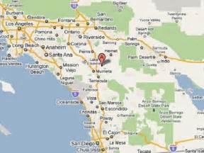 winchester california map california map