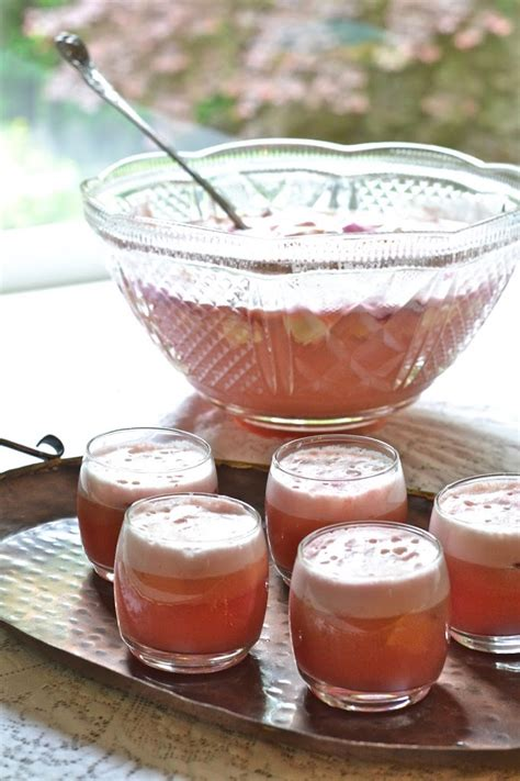 non alcoholic punch recipes for bridal shower the drink tropical sherbet punch while he was napping