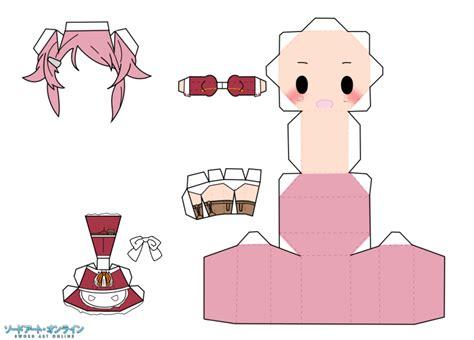 Anime Papercrafts - lizbeth rika by dallaspierce papercrafts
