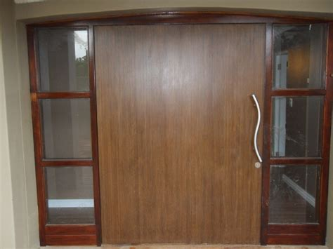 Wide Exterior Doors 2 Meter Wide Bamboo Front Door Door Ideas Solid Bamboo Pinterest