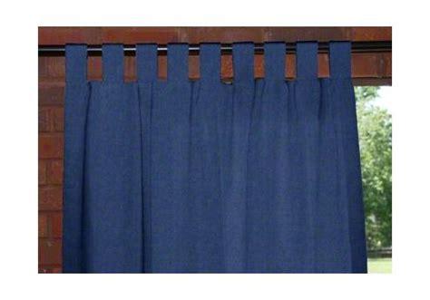 custom outdoor curtains custom tab top outdoor drapes cushion source ca