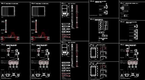folding doors dwg detail  autocad designs cad