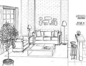 online room sketch gallery for gt living room sketch