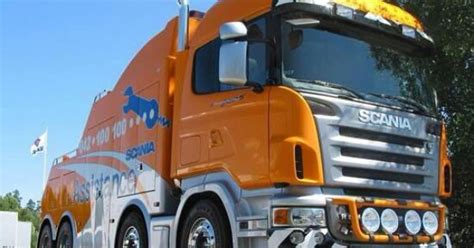 scania scania assistance recovery trucks