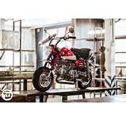海外にもモンキー愛好家がいるんですね  LAWRENCE Motorcycle X Cars α