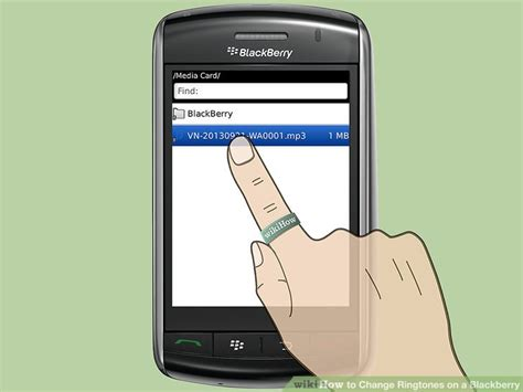 blackberry new ringtone how to change ringtones on a blackberry 10 steps with