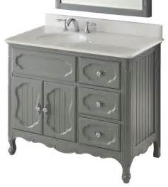 42 quot cottage style white knoxville bathroom sink