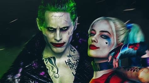 Squad Harley Quinn Joker a stupid joker and harley quinn spin is in