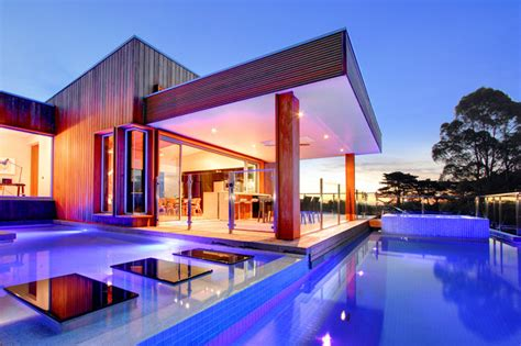 modern house designs with pool modern pool house designs house and home design