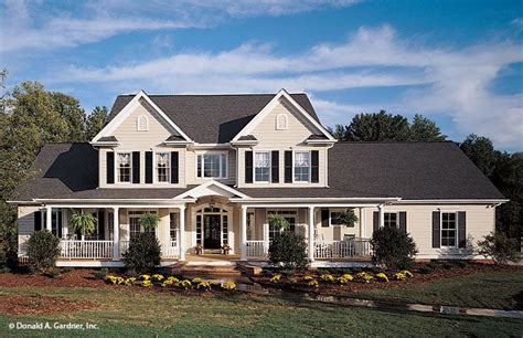 front exterior the arbordale house plan 452 home