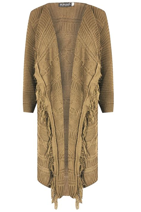 cable knit cardigan womens womens cardigan chunky cable knit tassel
