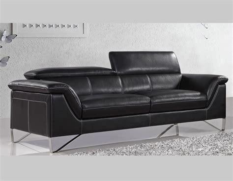 black modern sofa black modern sofa collection q25 leather sofas