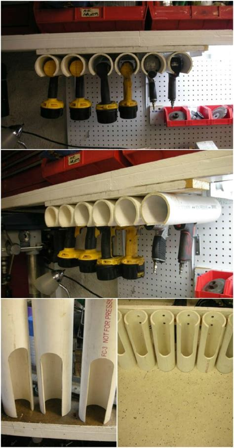 Pvc Tool Rack by 25 Changing Pvc Pipe Organizing And Storage Projects