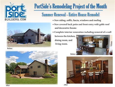 2016 08 august summer renewal portside builders