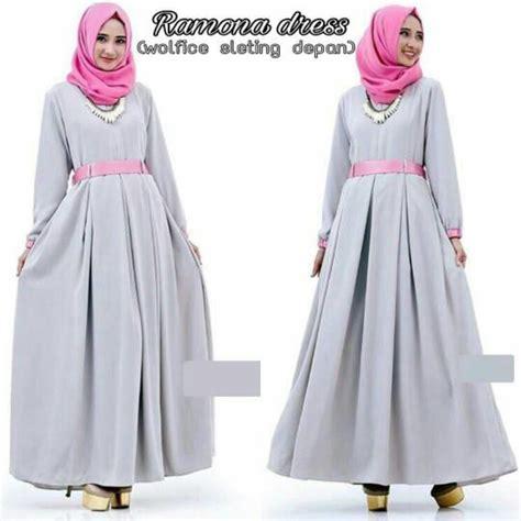 Baju Atasan Muslim Murah Gamis Murah New Square Maxi 1 ramona dress baju menyusui gamis murah baju muslim baru jual baju muslim batik