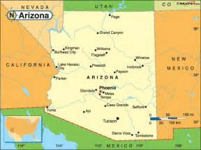 arizona map christopher s expat adventure arizona