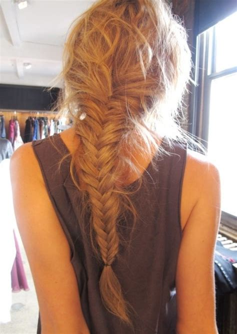 Fish Braids Hairstyles by Fishtail Braid Hairstyles Weekly