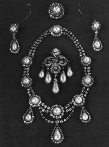 """thestandrewknot: """" Queen Louise of Denmark's Diamond and"""