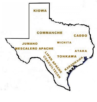 map of indian tribes in texas apache indians the handbook of texas texas state historical association tsha
