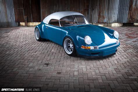 rwb porsche blue rauh welt redefined the terror garage rwb speedster