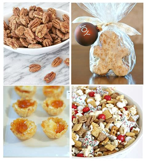 favorite christmas snacks and printable gift tag