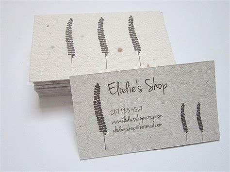 Handmade Paper Visiting Cards - items similar to custom business cards handmade paper