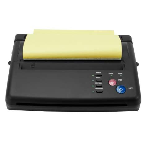 tattoo stencil printer machine pick 1 tattoo artist thermal stencil flash transfer copier