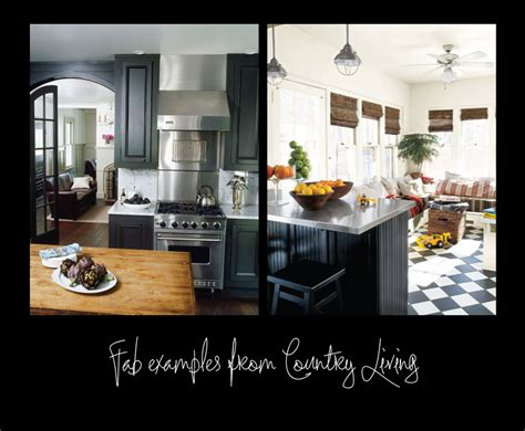 black country kitchens country living black kitchens