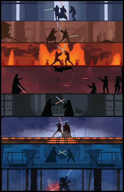 Wars Light Of The by Wars Lightsaber Duel Wallpaper 64 Images