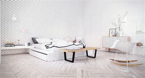 scandanvian design scandinavian bedroom design dominant with white color