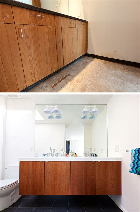 1970s bathroom tiles before after a dingy 1970s bathroom becomes bright and