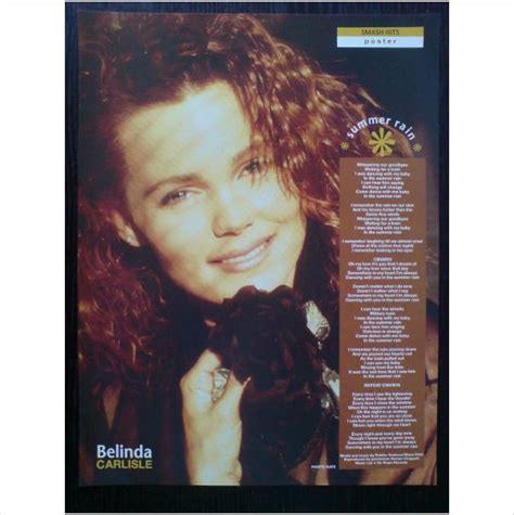 lyrics belinda carlisle 36 best images about belinda carlisle wiedlin the