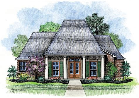 louisiana house plans wyatt louisiana house plans acadian house plans