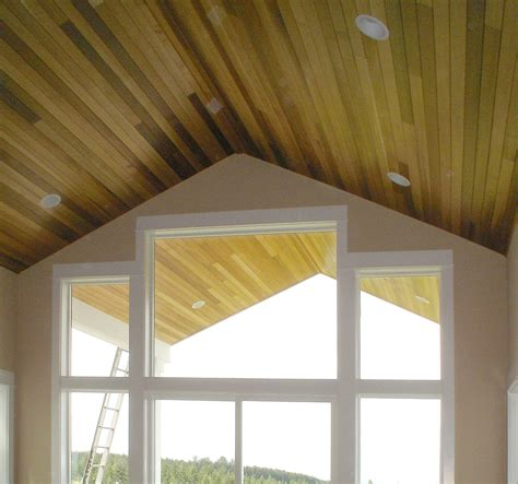 painted white tongue and groove ceiling the clayton design