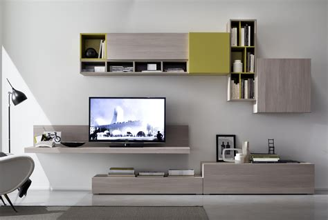 mobile a parete soggiorno tender cod 111 mobile parete attrezzata per soggiorno l
